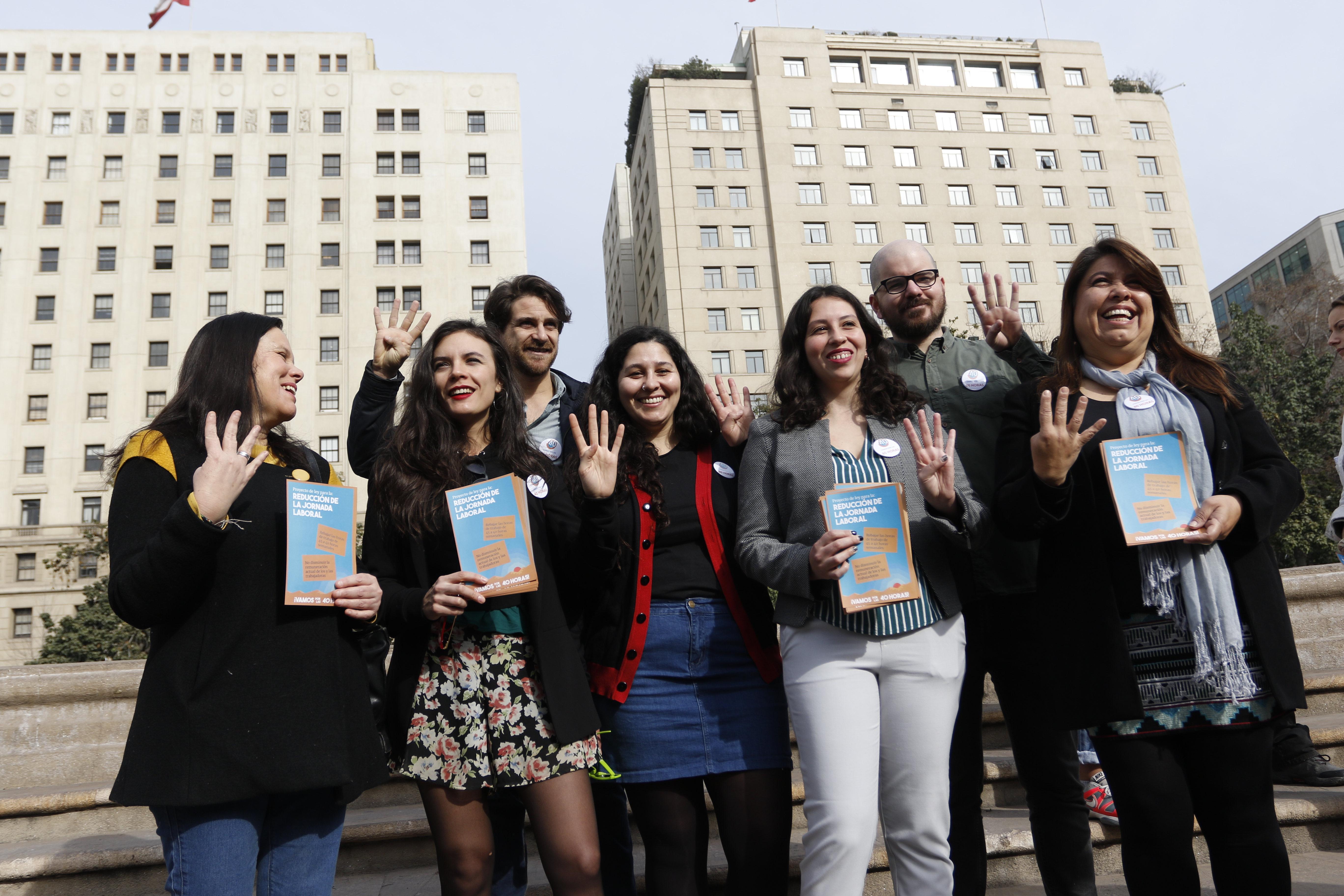 """""""Proyecto que reduce jornada laboral a 40 horas será discutido el lunes"""""""