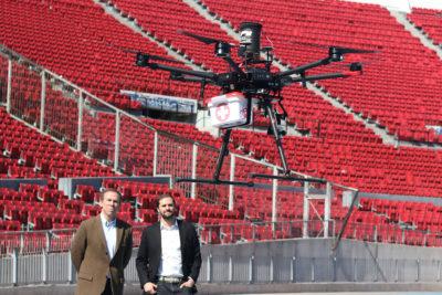 Prueban modelos de dron que trasladan órganos para trasplantes