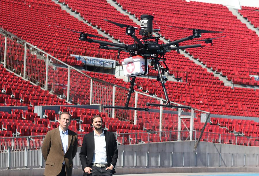 """""""Prueban modelos de dron que trasladan órganos para trasplantes"""""""