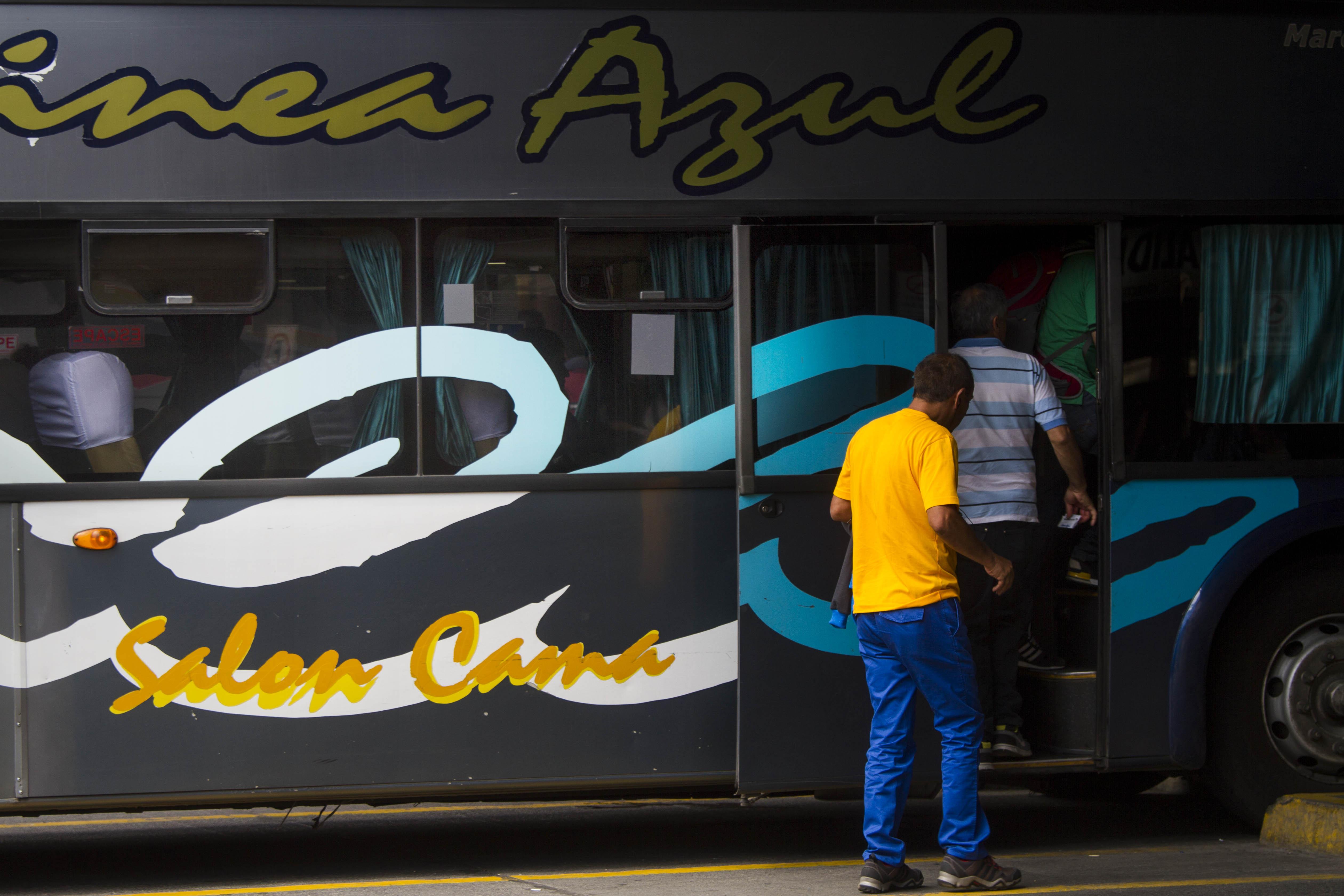 Línea Azul sigue realizando viajes Chillán-Concepción pese a suspensión