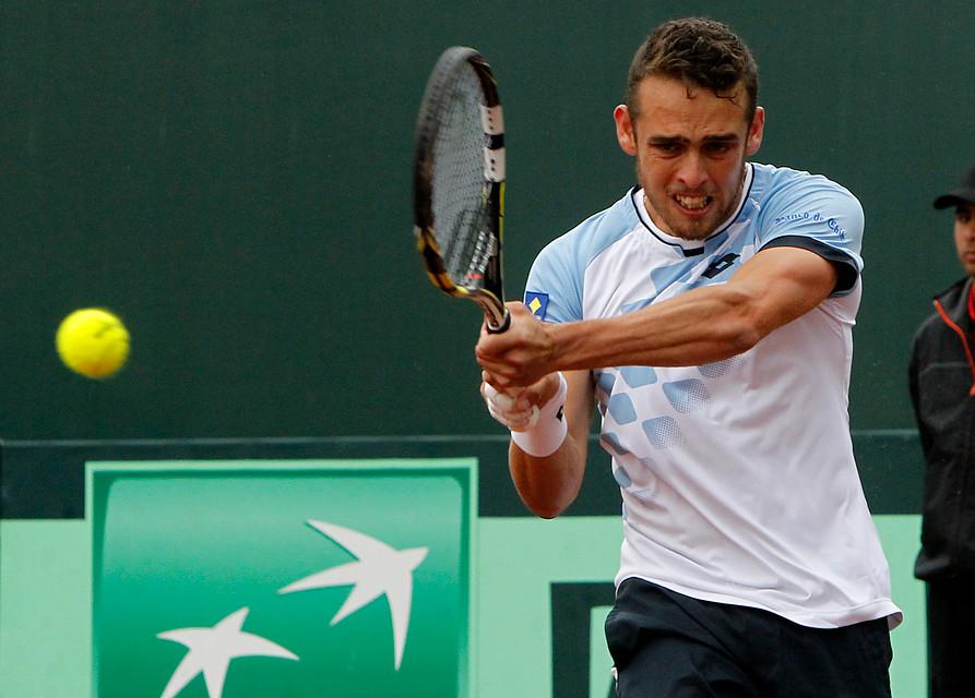 Tenista Juan Carlos Sáez fue sancionado por ocho años