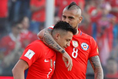 Alexis y Vidal se encontrarán en la fase de grupos de la Champions League