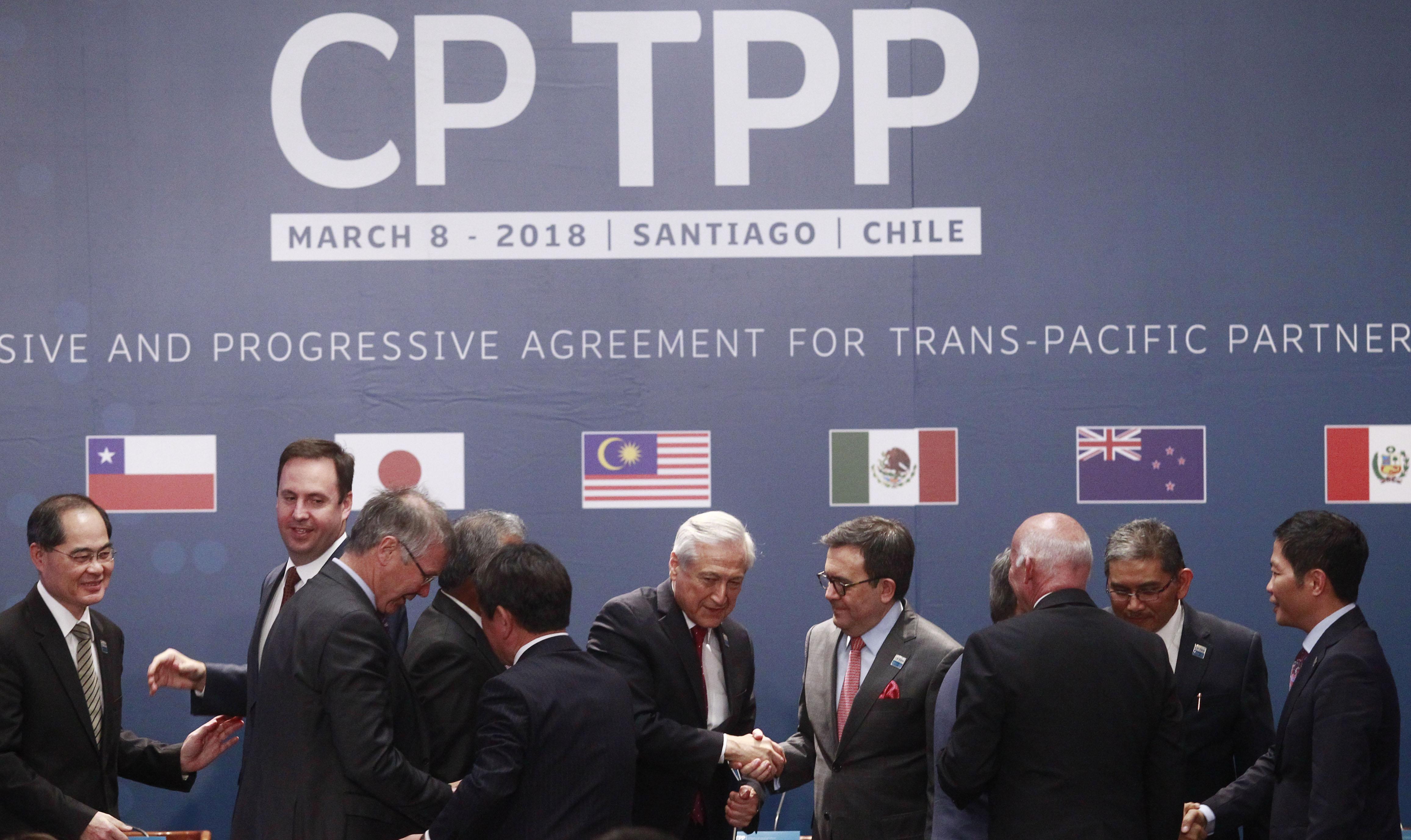 Gobierno desmiente que TPP-11 haya sido redactado por transnacionales