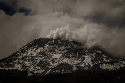 Registran nuevo evento explosivo en el Complejo Volcánico Nevados de Chillán