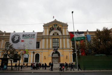 Aparecieron los libros robados durante toma de la Universidad de Chile