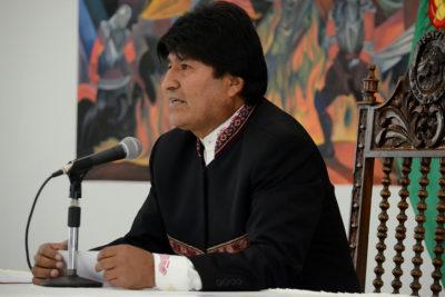 Evo Morales asegura que incendios forestales en Bolivia serían intencionados