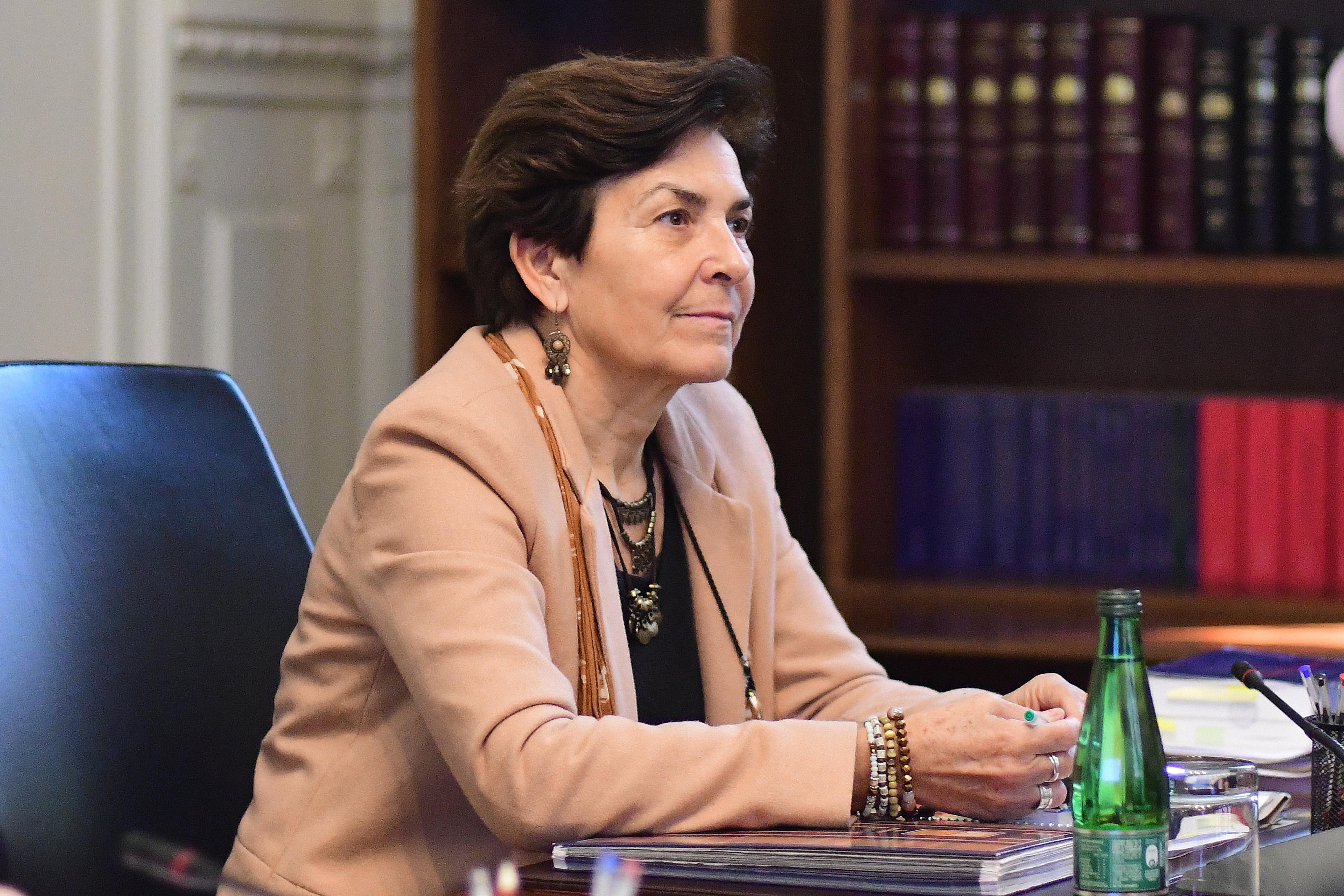 """""""María Luisa Brahm es elegida nueva presidenta del Tribunal Constitucional"""""""