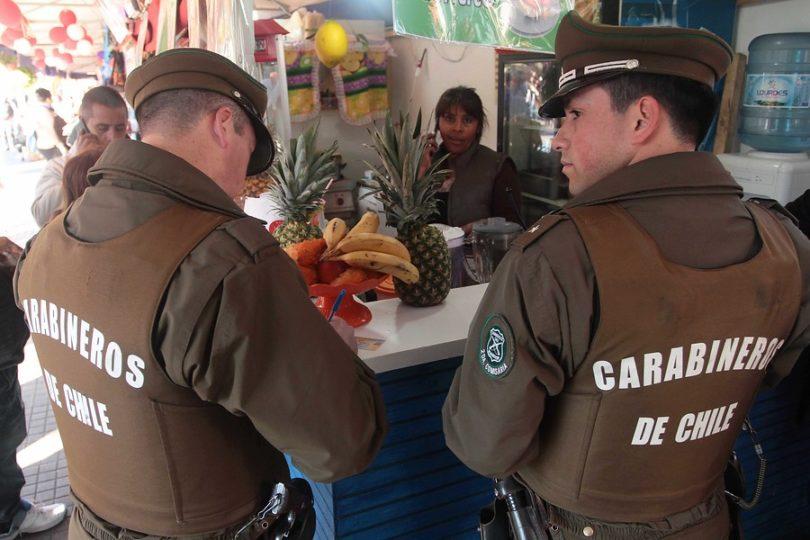 Tres carabineros detenidos por disparar a jóvenes y simular robo