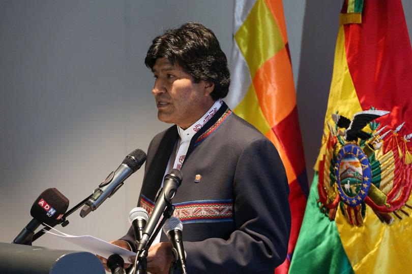 """""""Evo Morales a activistas:"""