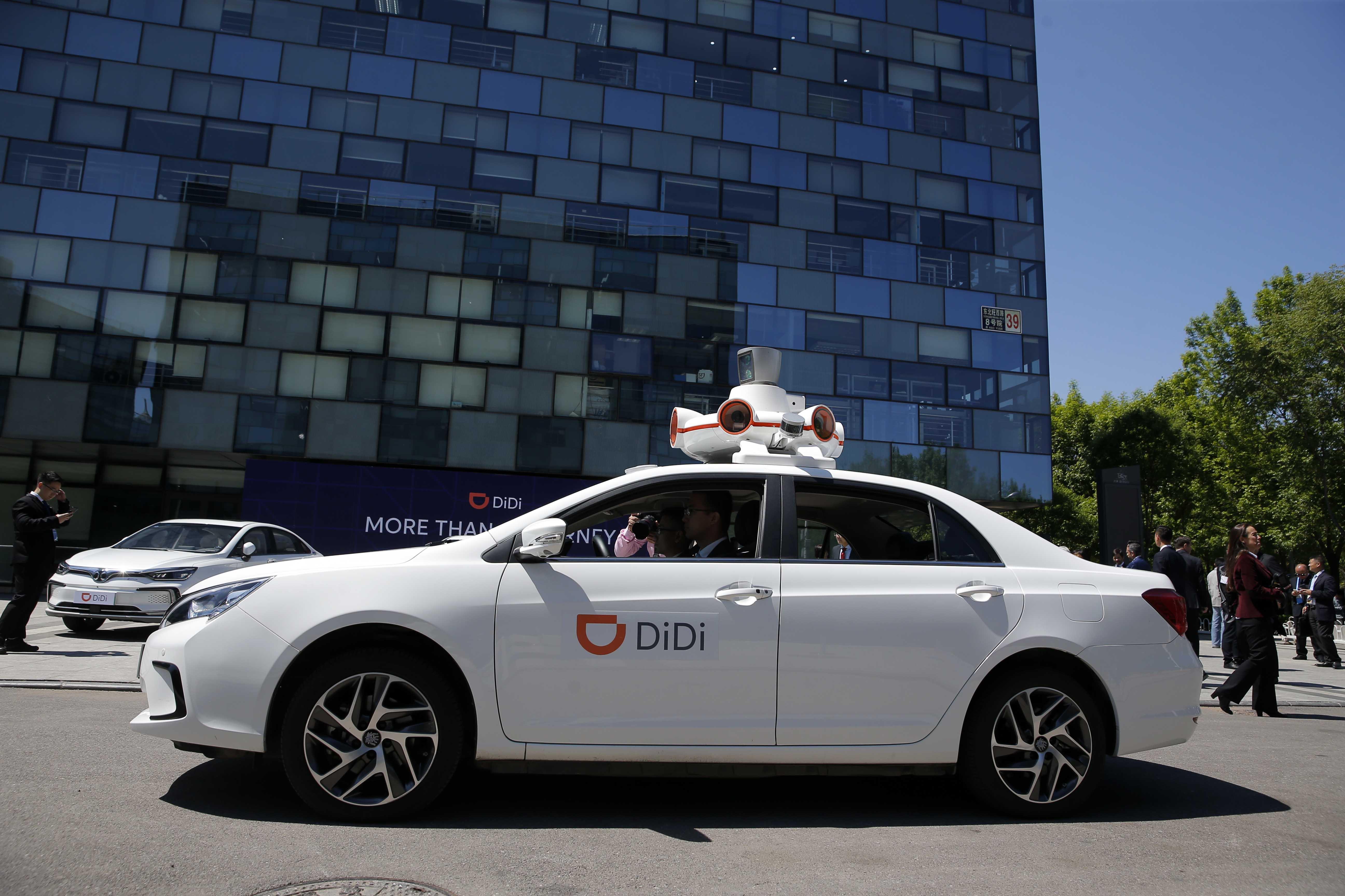 DiDi comienza a operar en Santiago con agresiva campaña