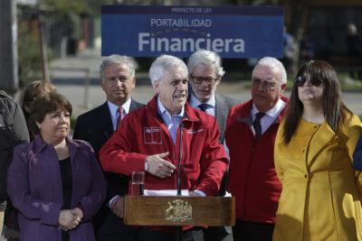 """Sebastián Piñera presentó el proyecto de Portabilidad Financiera: """"Van a poder cambiarse de banco con mucho mayor facilidad"""""""