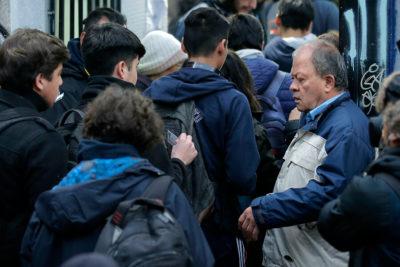 Estudiantes del Instituto Nacional detenidos quedaron en libertad