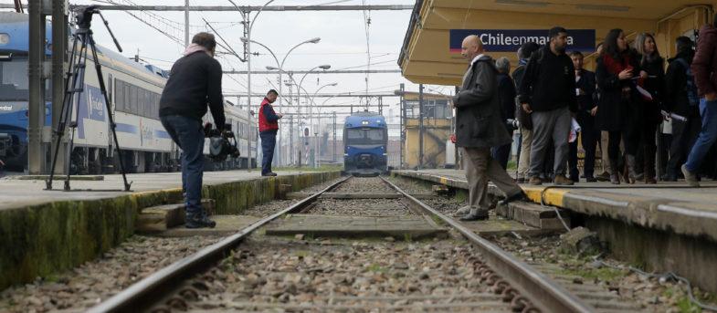 Nuevo servicio de trenes Chillán-Alameda acortará viajes a 3 horas y 40 minutos
