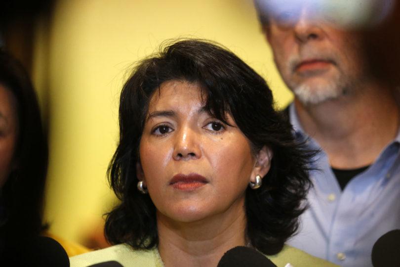"""Yasna Provoste lamenta renuncia de Raúl Soto a la DC: """"Esperemos que pueda reflexionar"""""""