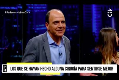 Cristián Monckeberg confesó en Podemos Hablar que recurrió al bótox durante una campaña