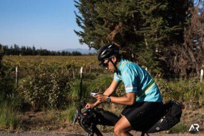 Ciclista chileno asaltado participó en la competencia de más dura de Francia