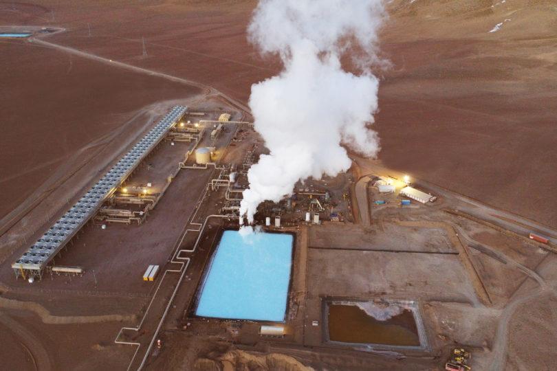 Inician construcción de expansión de 33 MW de la central geotérmica Cerro Pabellón