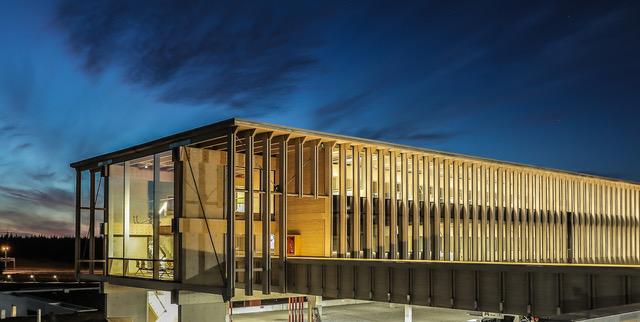Primer lugar de Concurso de Obras de Arquitectura en Madera recae en edificio de CMPC