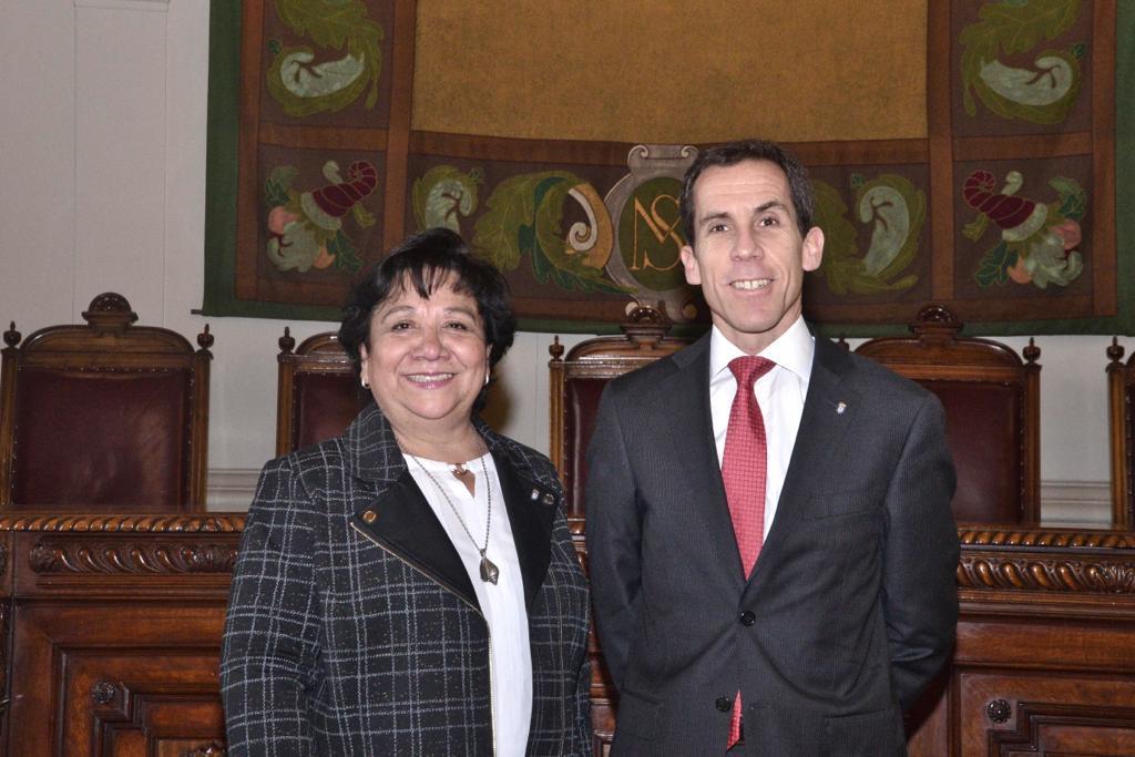 Lilí Orell fue designada como rectora interina del Instituto Nacional