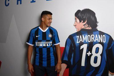 VIDEO | Las primeras imágenes de Alexis como jugador del Inter de Milán