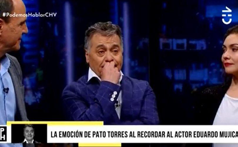 """Patricio Torres llora al recordar a Eduardo Mujica: """"Era un hijo para mí"""""""