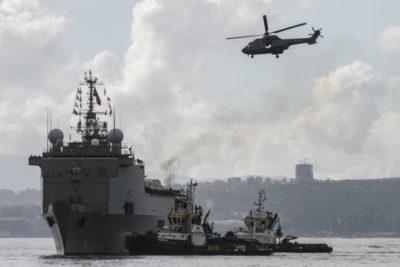 Tres lesionados tras accidente en buque Sargento Aldea de la Armada