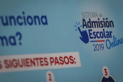 Mineduc informa sobre Sistema de Admisión Escolar a una semana de su inicio en la Región Metropolitana