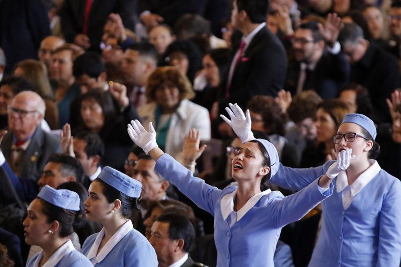 Tedeum evangélico deja atrás catedral de Estación Central y presenta nuevo anfitrión