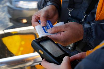 Evasión en el transporte público: se han cursado 45 mil multas en lo que va del 2019