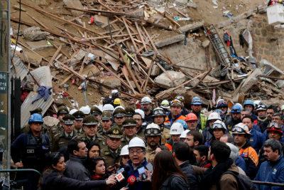 Intendente no descarta una séptima víctima por derrumbe en Valparaíso