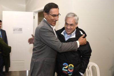 Piñera propone que Chile y Perú exporten pisco juntos