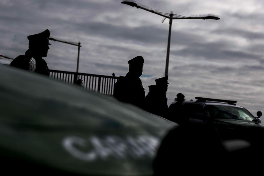 """""""Tres menores de edad detenidos tras asalto a constructora en Las Condes"""""""
