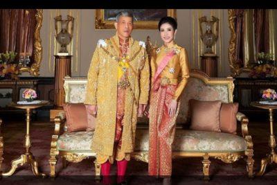Rey de Tailandia retoma extinta tradición y presenta a nueva concubina
