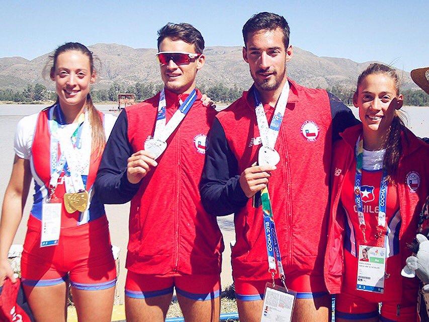 Cuatrillizos de oro: hermanos Abraham le dieron cinco medallas a Chile en Lima