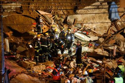 Derrumbe en Valparaíso: Recuperan quinto cuerpo desde los escombros