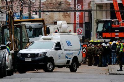 Rescatan cuerpo e identifican a sexta víctima de derrumbe en Valparaíso