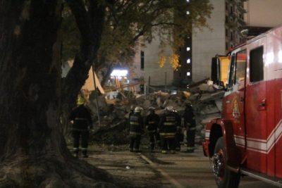Se derrumbó un edificio de ocho pisos en Buenos Aires: La obra había sido inspeccionada previamente diez veces