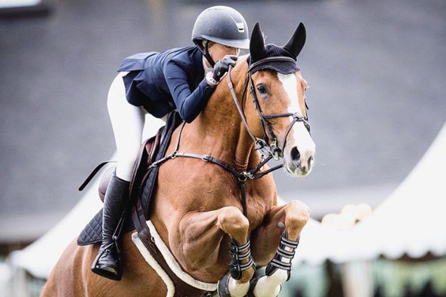 Hija de Steve Jobs brilla en la equitación de los Panamericanos