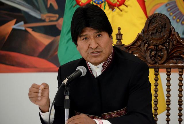 Evo Morales envió saludo a Chile por las Fiestas Patrias
