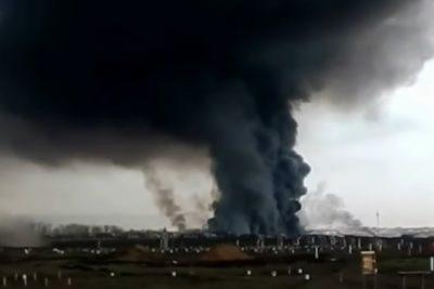 Un aumento de radioactividad y dos muertos deja explosión en Rusia