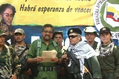 """Video que anuncia el retorno de la """"lucha armada"""" por las FARC fue grabado en Venezuela"""