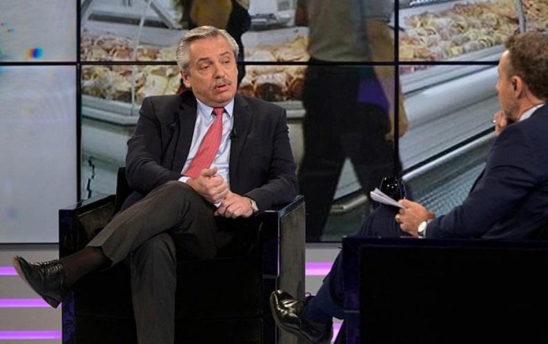 """""""Alberto Fernández, candidato presidencial de Argentina:"""