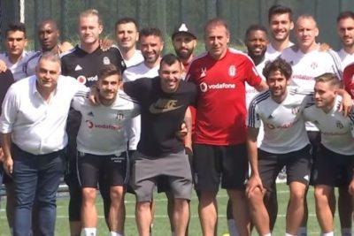 Gary Medel se despide de sus compañeros de Besiktas ante su inminente llegada a Bologna