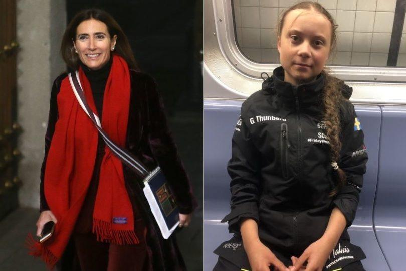 Ministra de Medio Ambiente se reunirá con Greta Thunberg en Nueva York