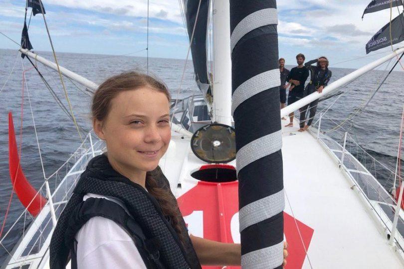 """Greta Thunberg confirma su visita a Chile: """"Voy a intentar llegar sin volar"""""""