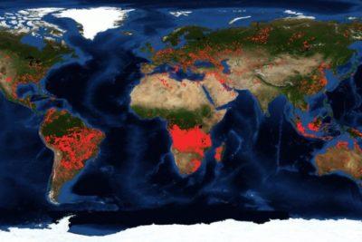 Diez mil focos de incendio: Aumenta el fuego en África