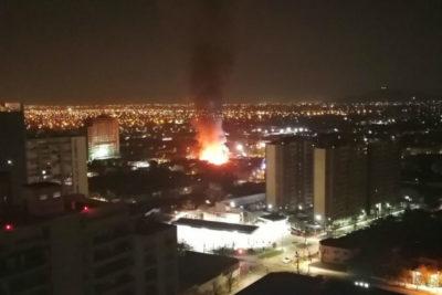 Al menos 30 damnificados tras incendio en cité de Estación Central