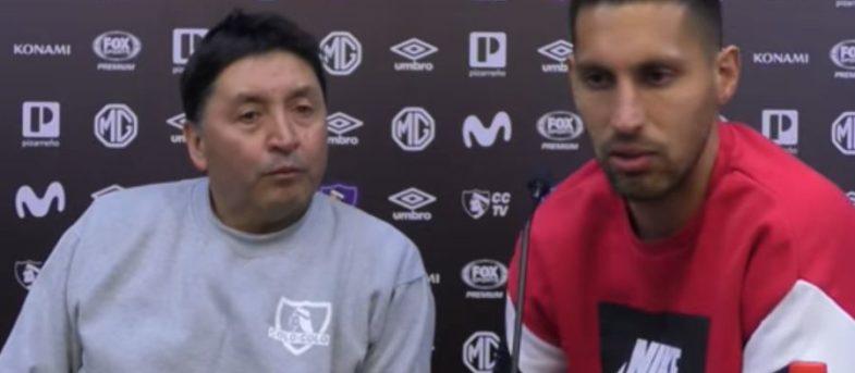 VIDEO | Insaurralde se disculpó con funcionario de Colo Colo por sus insultos en pleno partido