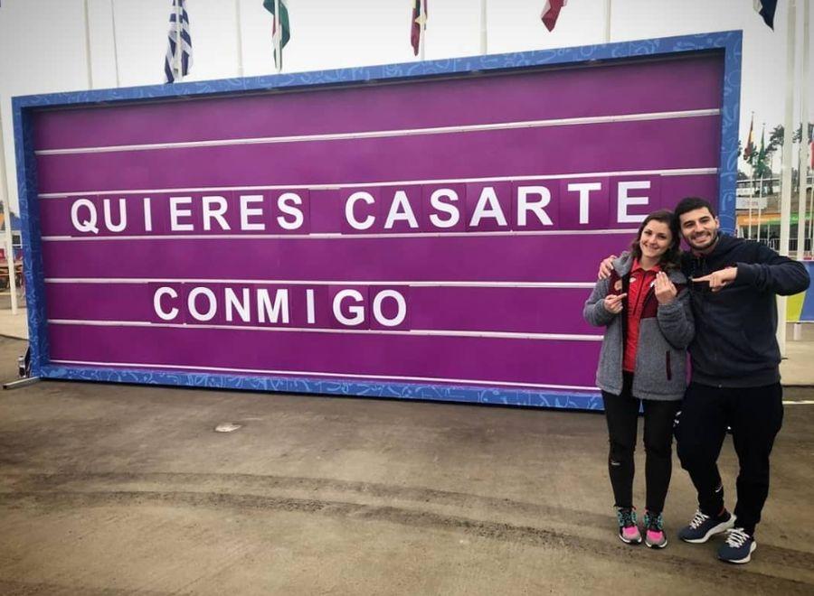 Amor en los Panamericanos: karateca chileno le pidió matrimonio a jugadora de balonmano