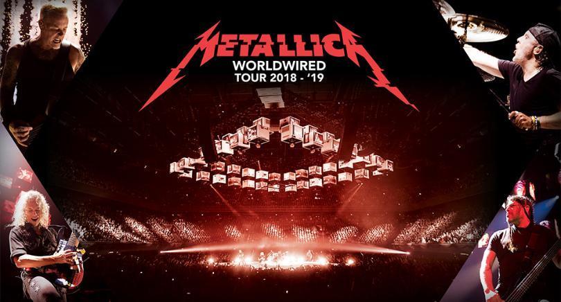 """""""¡Ya hay fecha!: Metallica agenda show en nuestro país el próximo 15 de abril"""""""